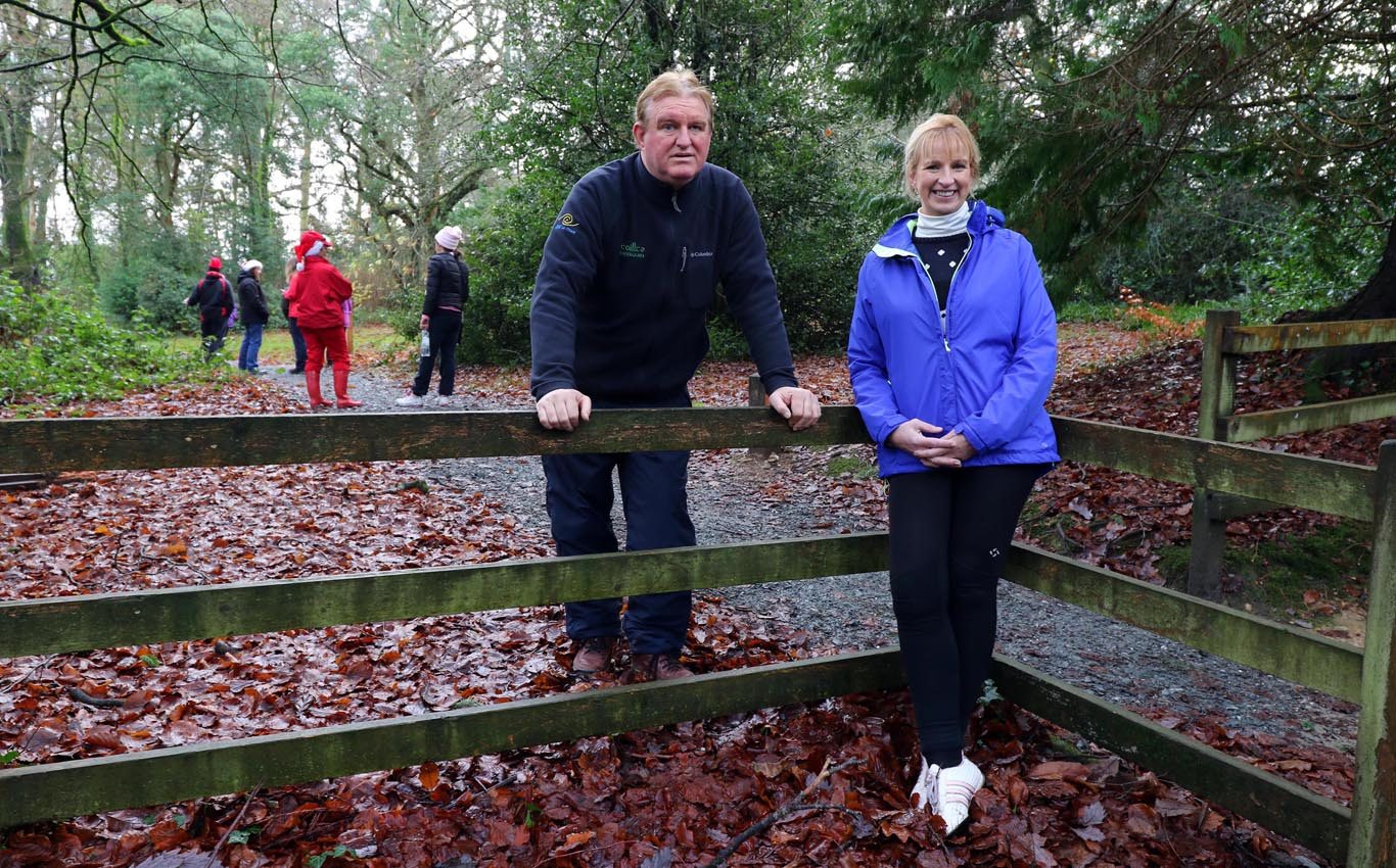 Projects - Woodlands For Health - Charlie Burke and Ita Kelly